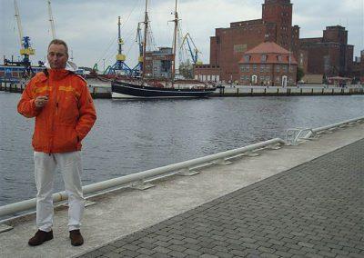 in Wismar am Hafen