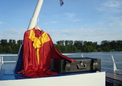 Hamlet auf dem Rhein