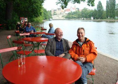 Mit Herrn Setz bei Reimanns in Bernburg